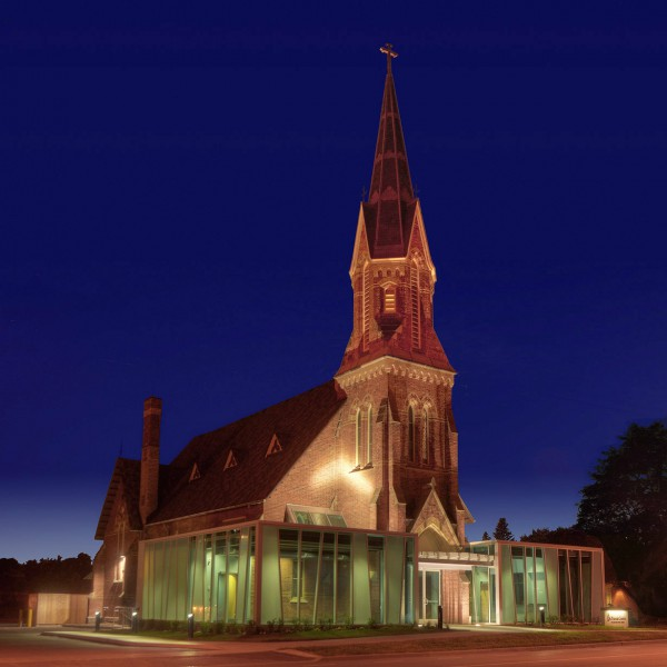 St. Francis Centre at night