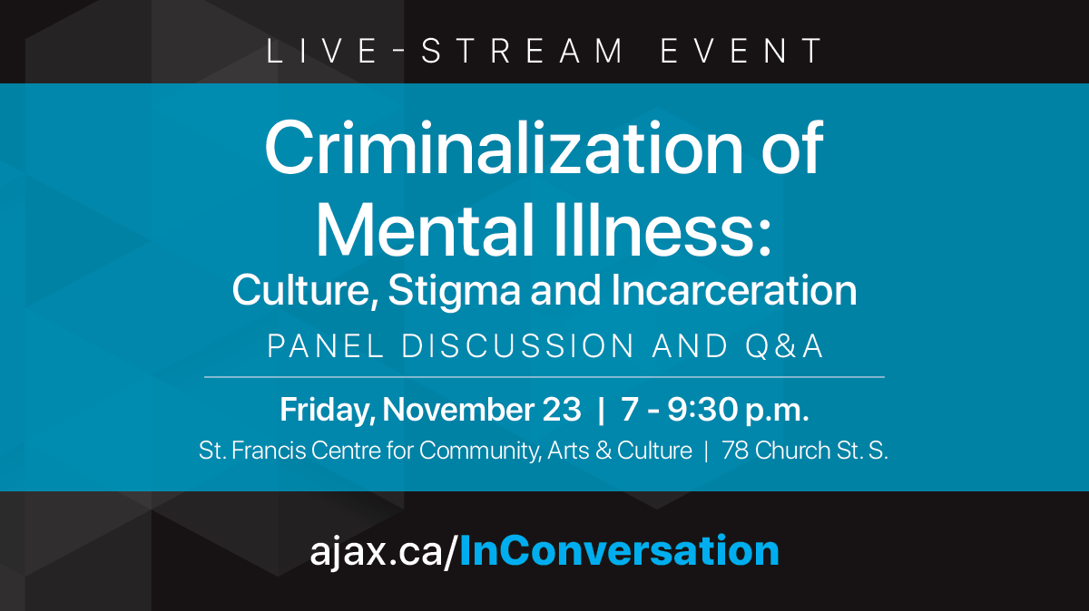 In Conversation With Criminalization Of Mental Illness Culture
